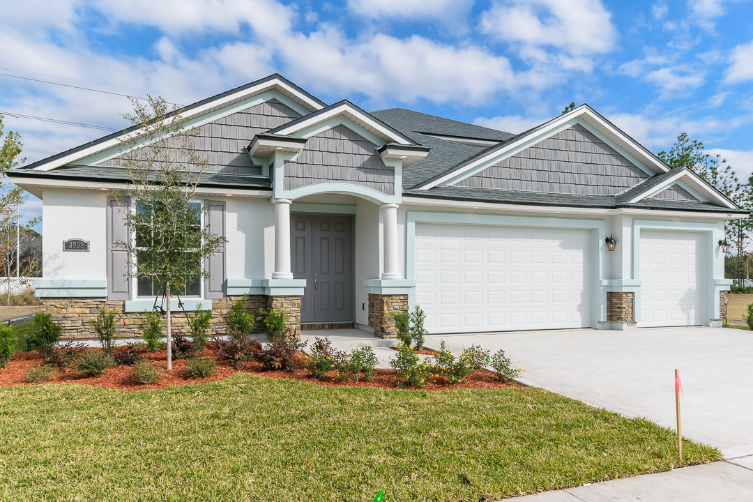 Plan 2434 with Customized Layout Including Bonus Room and 5th Bedroom (3145 Sq. Ft)