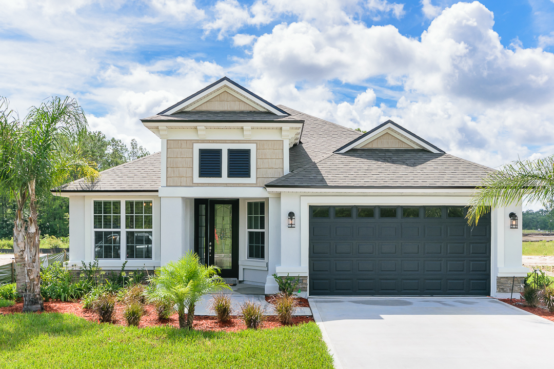 Osprey Landing Model Home Plan 2093 (Elevation C)
