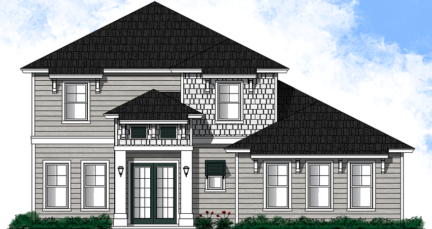 Elevation A (Lap Siding)