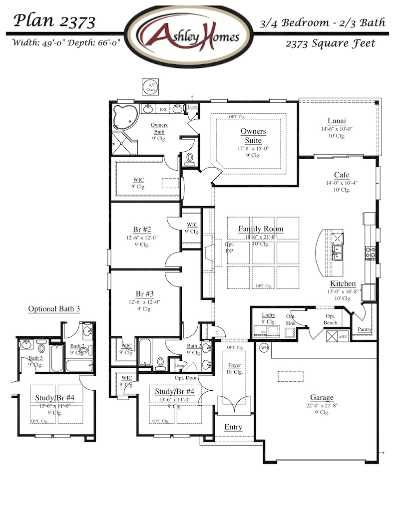 Ashley_Homes_Plan_2373_FP_Arbor_Mill_Oakleaf_Plantation