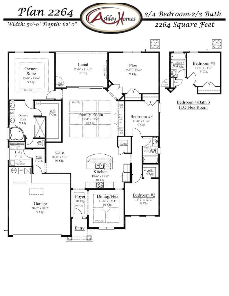 Ashley_Homes_Plan_2264_FP_Arbor_Mill_Oakleaf_Plantation