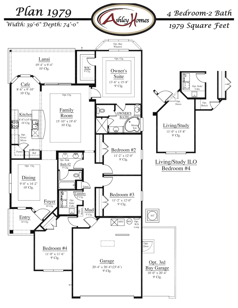Floor Plan 1979 Traceland Green Cove Springs